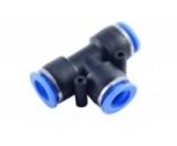 Фитинг T-образный для пластиковых трубок 6мм