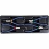 Набор съемников стопорных колец японского типа, 4 пр., в ложементе ACK-384029